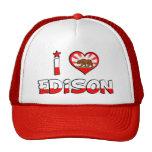 Edison, CA Trucker Hat