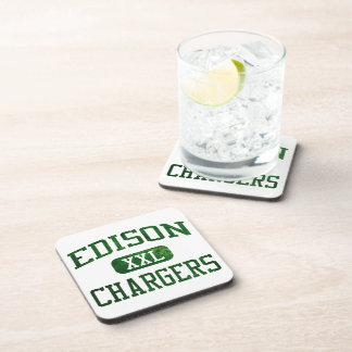 Edison Chargers Athletics Beverage Coaster