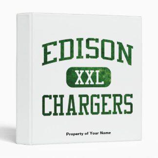 Edison Chargers Athletics Binder