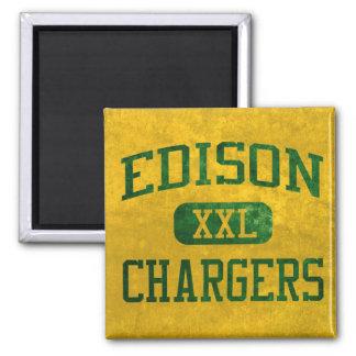 Edison Chargers Athletics Fridge Magnet