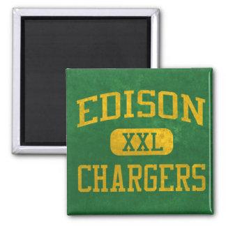 Edison Chargers Athletics Magnet