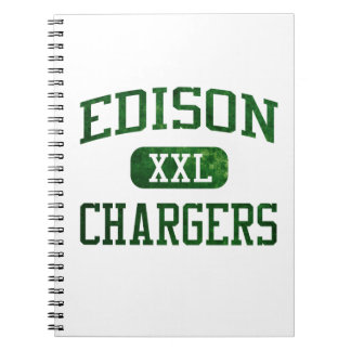 Edison Chargers Athletics Spiral Notebooks