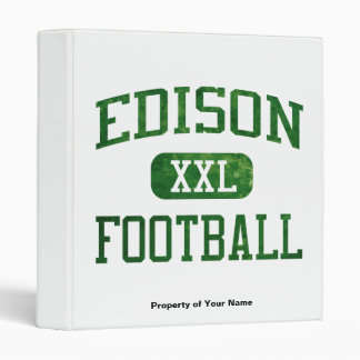 Edison Chargers Football 3 Ring Binder