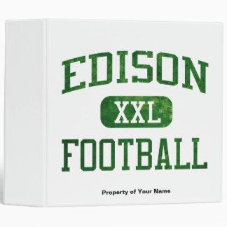 Edison Chargers Football Binders