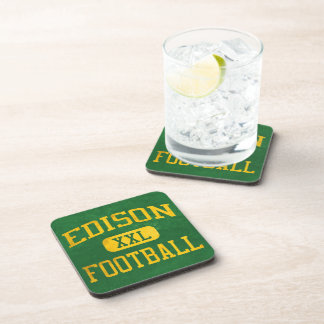 Edison Chargers Football Drink Coaster