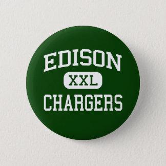 Edison - Chargers - High - Huntington Beach Pinback Button