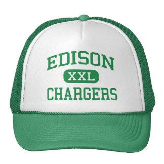 Edison - Chargers - High - Huntington Beach Trucker Hat
