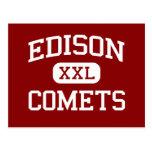 Edison - Comets - Middle - Champaign Illinois Post Cards