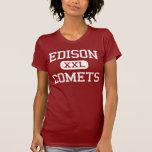 Edison - Comets - Middle - Champaign Illinois Tshirts