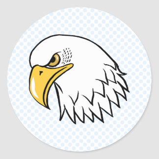 Edison Eagle Pegatina Redonda
