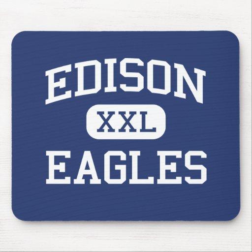 Edison - Eagles - Junior - Rock Island Illinois Mouse Pads