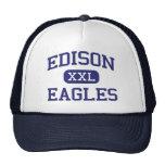 Edison Eagles Middle Los Angeles California Mesh Hats