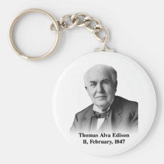 Edison Keychain