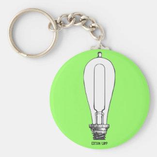 Edison Lamp Keychain