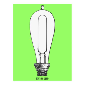Edison Lamp Post Cards
