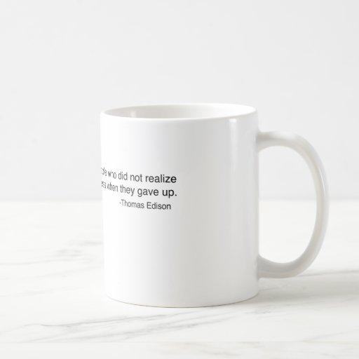 Edison - Life's Failures Mug