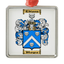 Edison Metal Ornament