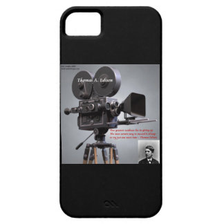 "Edison ""One More Try"" Quote iPhone 5 Case"
