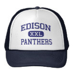 Edison Panthers Middle Bakersfield Mesh Hats