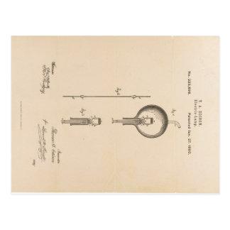 edison-patent-light-bulb-postcard-u.s. postales