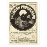 Edison phonograph post card