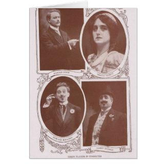 Edison Players 1912 Card
