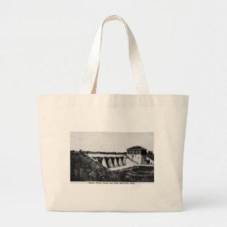 Edison Power House and Dam Belleville Michigan Canvas Bag