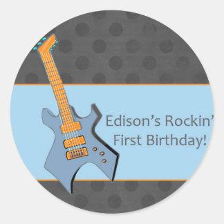 Edison Round Sticker