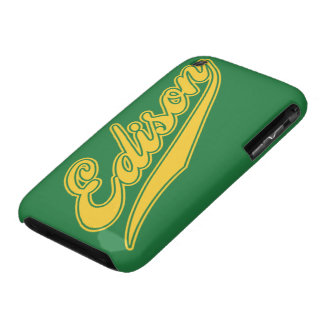 Edison Script iPhone 3 Case-Mate Cases