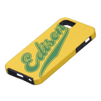 Edison Script iPhone 5 Case