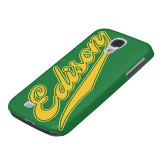 Edison Script Samsung Galaxy S4 Cover