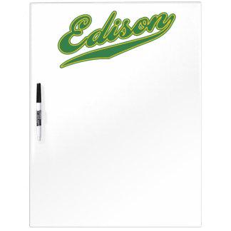 Edison Script Dry Erase Boards