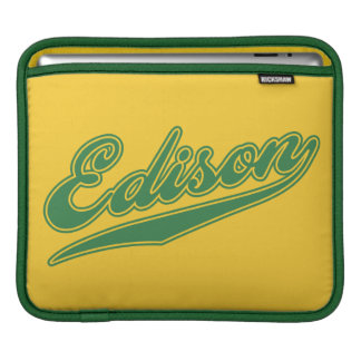 Edison Script Sleeves For iPads