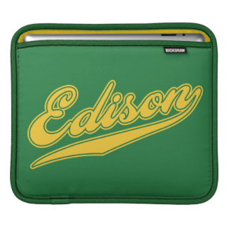 Edison Script Sleeve For iPads
