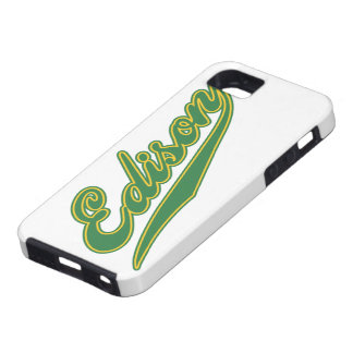 Edison Script iPhone SE/5/5s Case