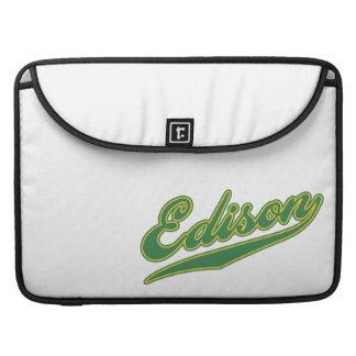 Edison Script Sleeves For MacBooks