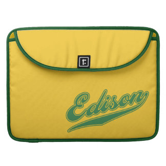 Edison Script MacBook Pro Sleeves