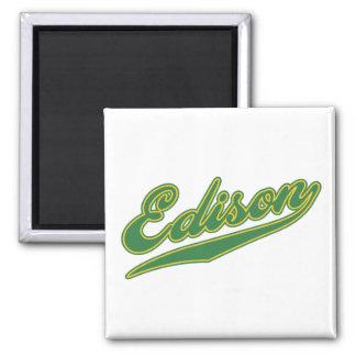 Edison Script Magnet
