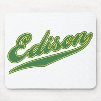 Edison Script Mouse Pad