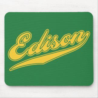 Edison Script Mousepads