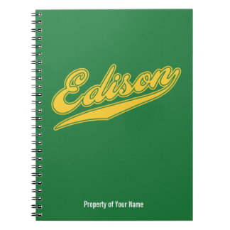 Edison Script Note Books