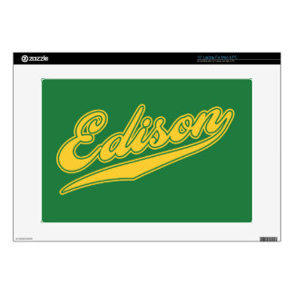 """Edison Script Skin For 15"""" Laptop"""