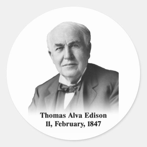 Edison Sticker Sticker