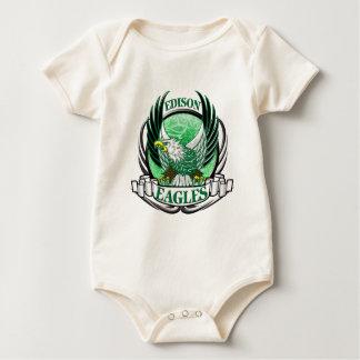 EdisonEagles3.png Baby Bodysuit