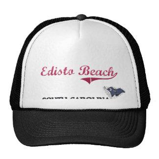 Edisto Beach South Carolina City Classic Hats