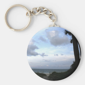 Edisto Island SC Basic Round Button Keychain