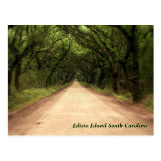Edisto Island South Carolina - Customized Postcard
