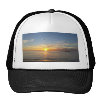 Edisto sunset. trucker hat
