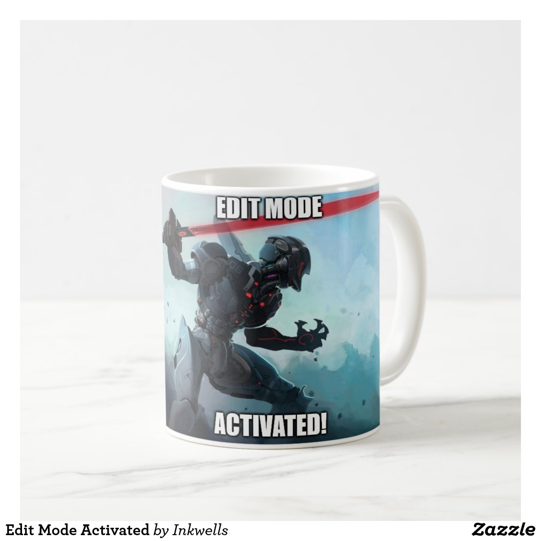 Edit Mode Activated Coffee Mug