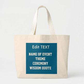 Edit replace TEXT IMAGE DIY Template JUMBO TOTE Jumbo Tote Bag